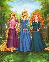 Princesses by daekazu