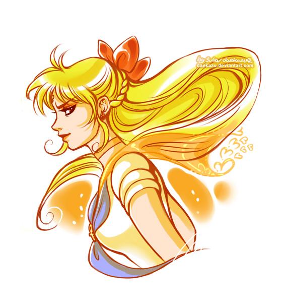 Sailor Venus by daekazu