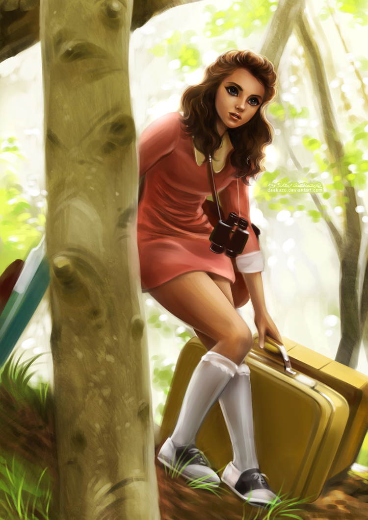 Moonrise Kingdom: Suzy Bishop by daekazu