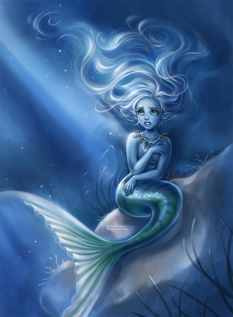 Moonlight Mermaid by d...