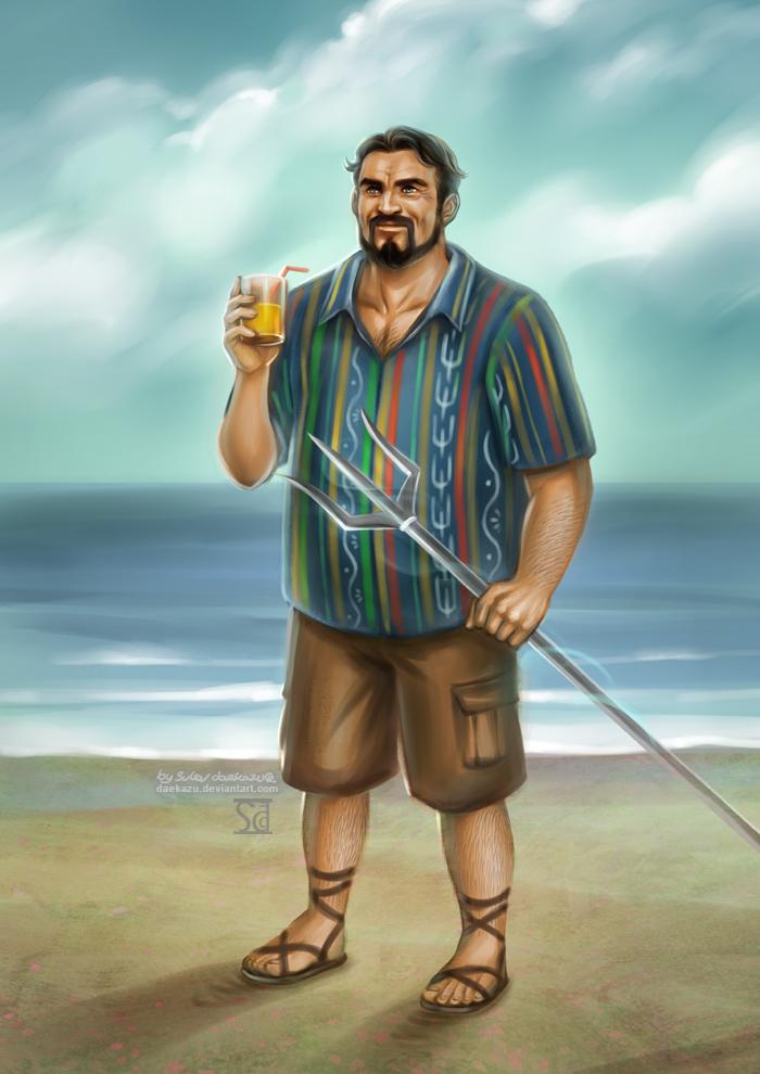 PJATO: Poseidon by daekazu
