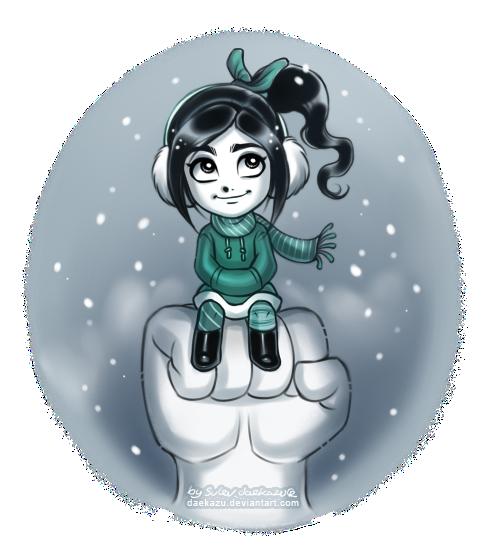 Winter Vanellope by daekazu
