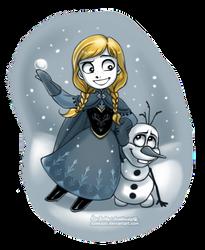 Winter Anna by daekazu