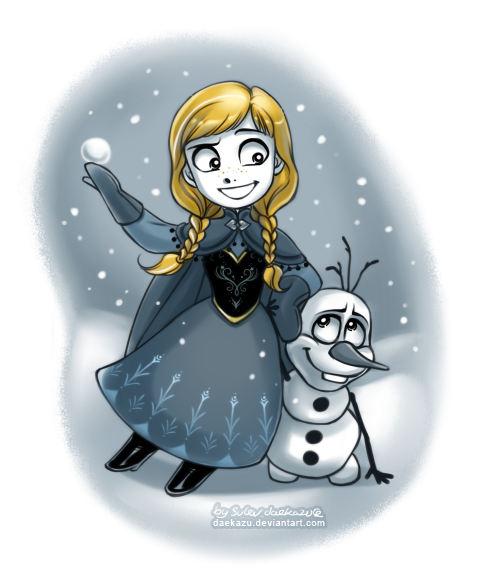 Winter Anna by daekazu