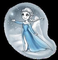 Winter Elsa by daekazu