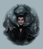 Maleficent by daekazu