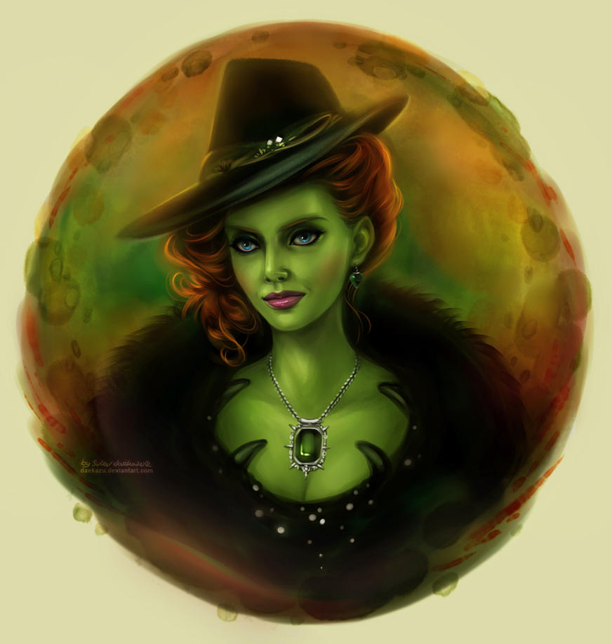 Ouat Wallpaper: Once Upon A Time: Zelena By Daekazu On DeviantArt