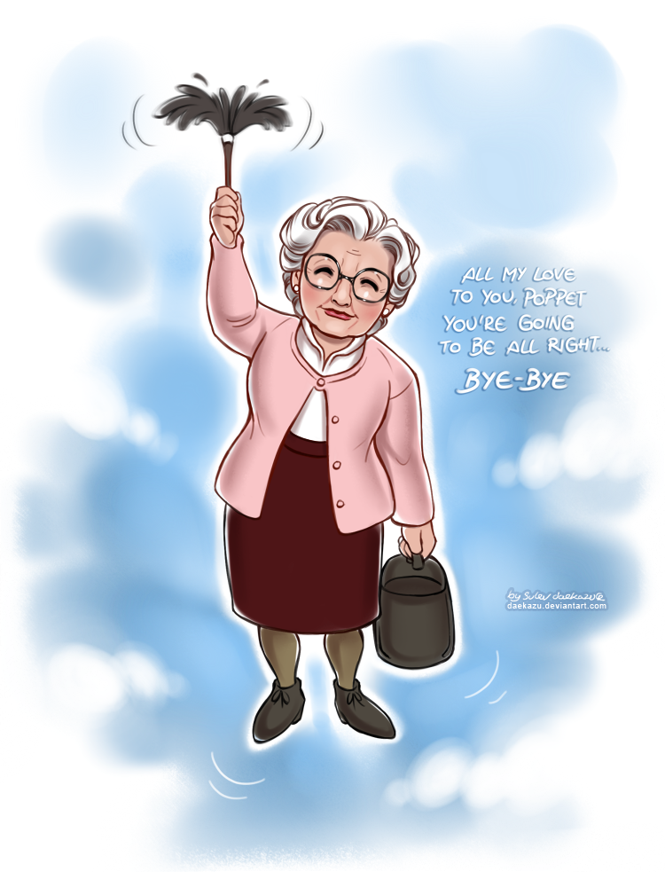 Mrs Doubtfire by daekazu