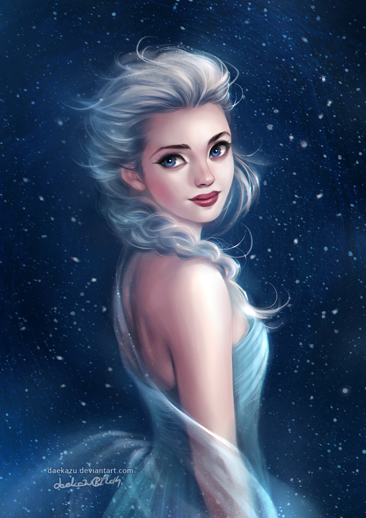 Frozen: Elsa by daekazu
