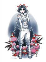 Snow White and the Seven Dwarfs by daekazu