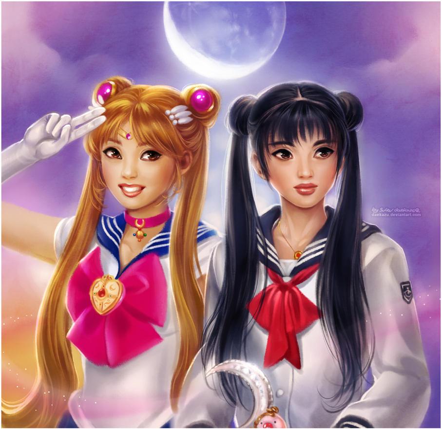Sailor Moon Live Action by daekazu