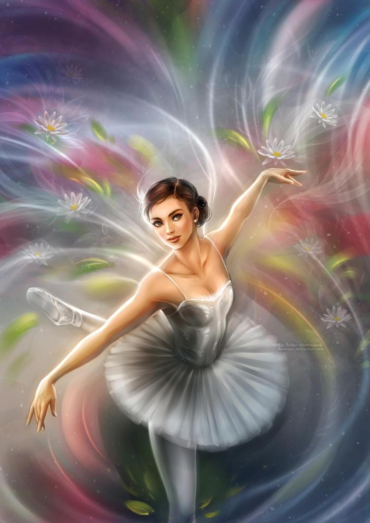 En puntas y a volar - Página 5 Ballerina_by_daekazu-d8h3m83
