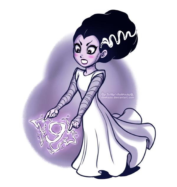 Monster Countdown Frankenstein Bride By Daekazu On DeviantArt