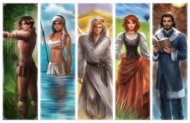 Kaisha: 5 NATIONS by daekazu
