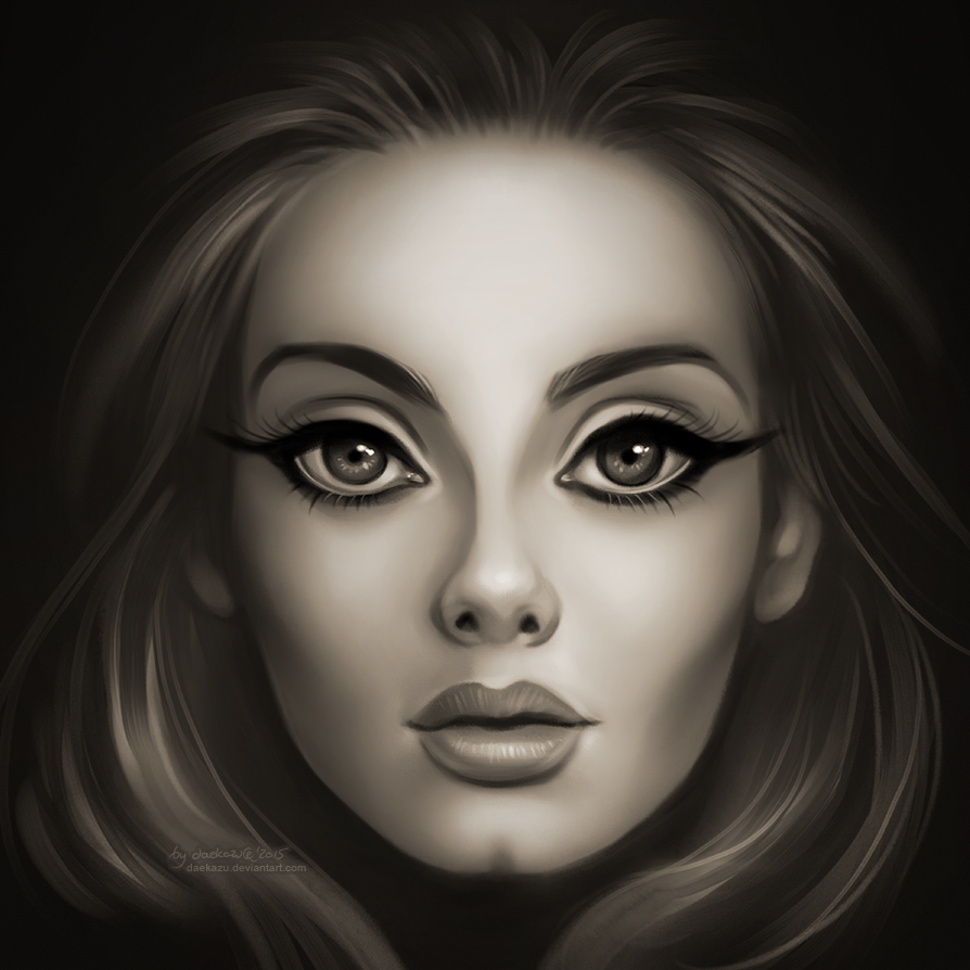 25 Adele: Adele: 25 By Daekazu On DeviantArt