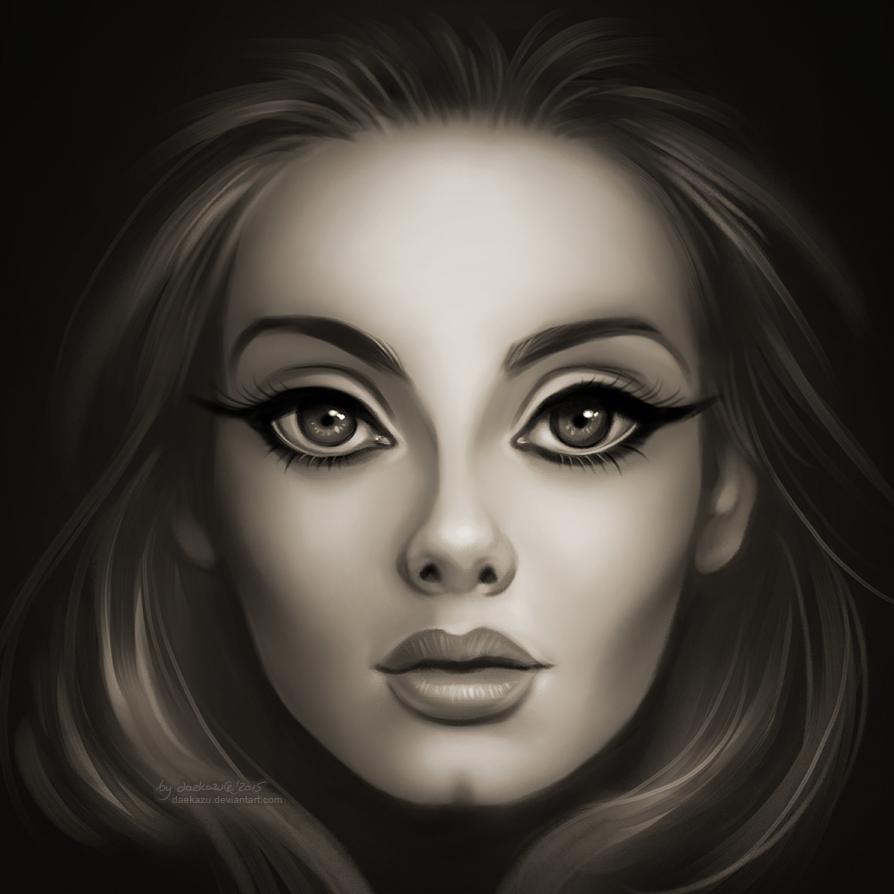 Adele 25 By Daekazu