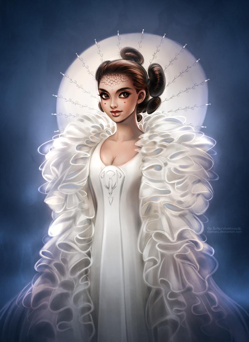 Star Wars: Queen Amidala by daekazu on DeviantArt