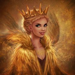 Golden Queen Ravenna by daekazu