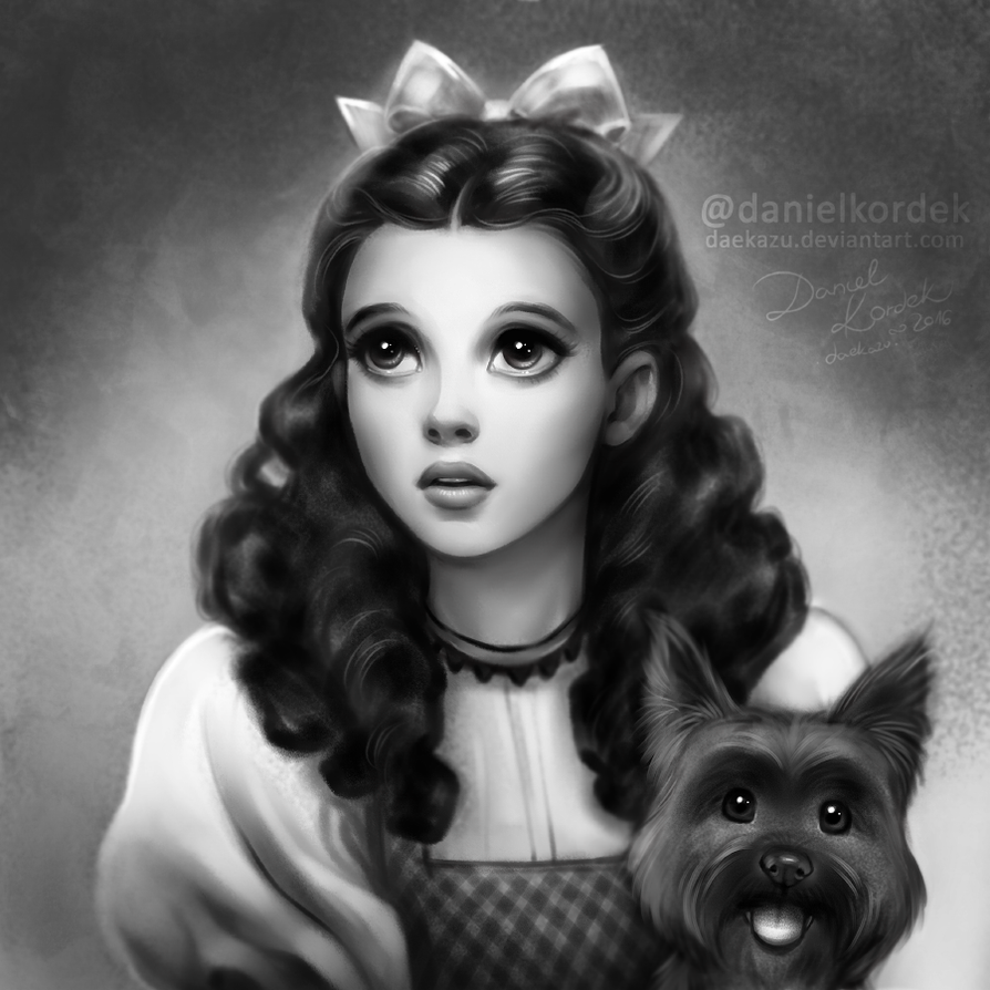 Judy Garland as Dorothy by daekazu on DeviantArt