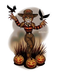 Monster Countdown: Scarecrow