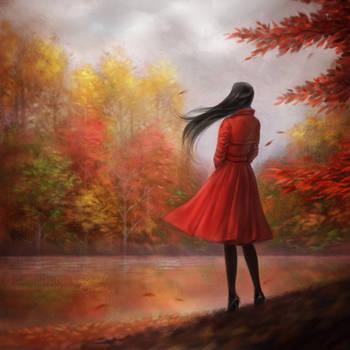 Lady in Red by daekazu
