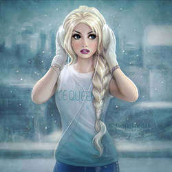 Frozen: Modern Elsa by daekazu