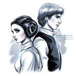 Star Wars: Leia + Han