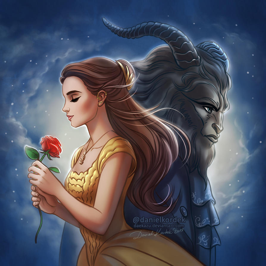Beauty and the Beast 2017 by daekazu