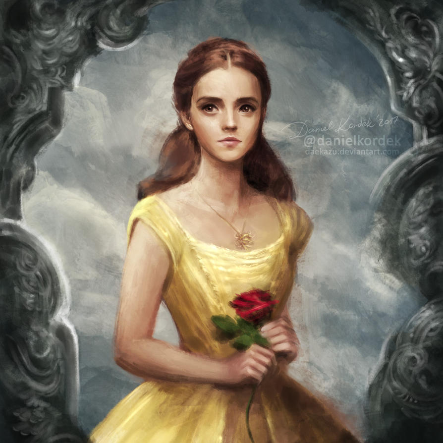 Beauty and the Beast: Belle by daekazu on DeviantArt