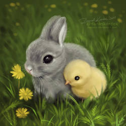 Happy Easter by daekazu