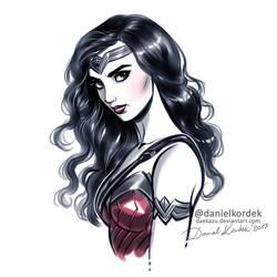 Wonder Woman by daekazu