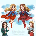 Supergirls: Movie vs Tv Series