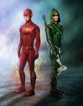 Flash + Arrow