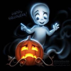 Casper Says Happy Halloween
