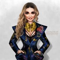 Madonna: Billboard Women In Music by daekazu