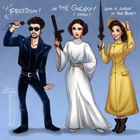 George, Carrie and Debbie