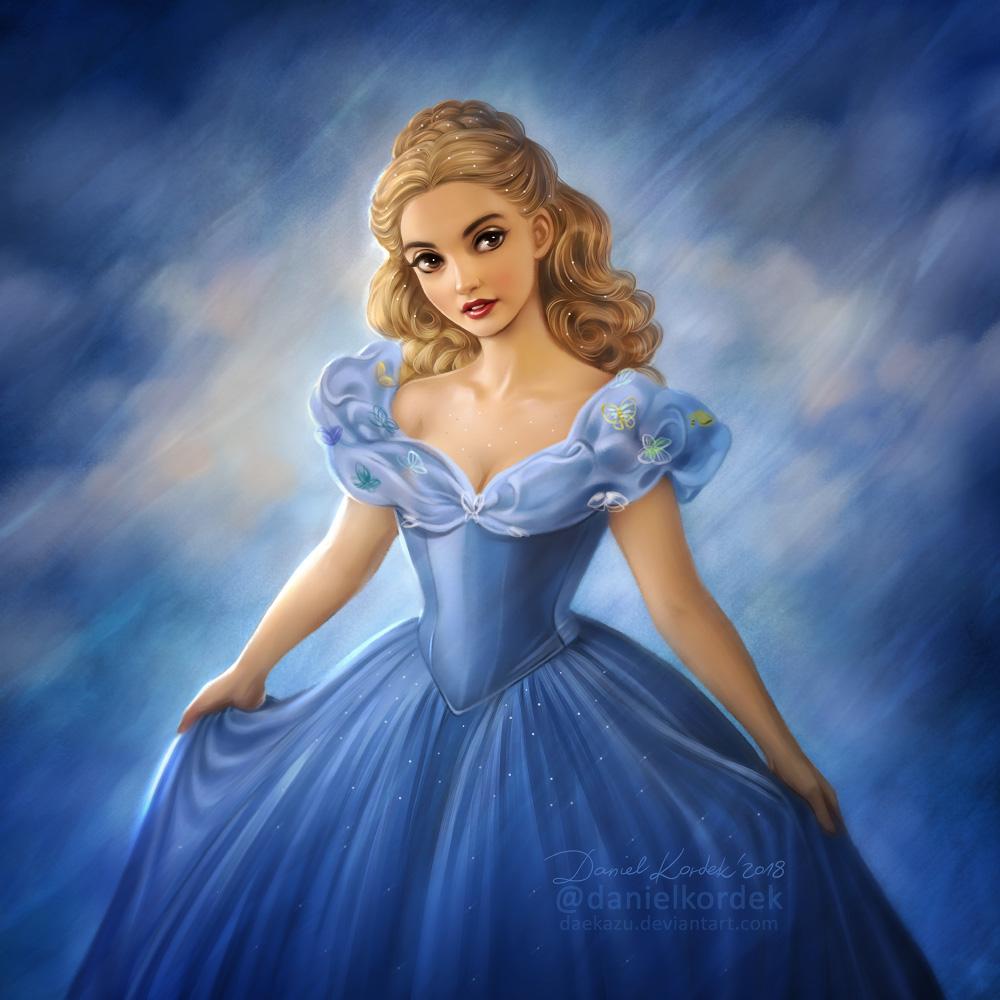 Cinderella 2015 by daekazu