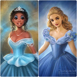 Cinderellas by daekazu