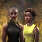 Black Panther: Okoye + Nakia