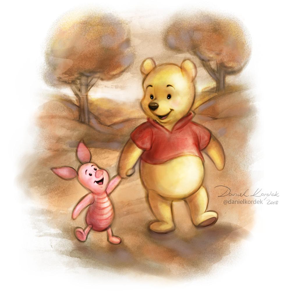 Winnie the Pooh by daekazu