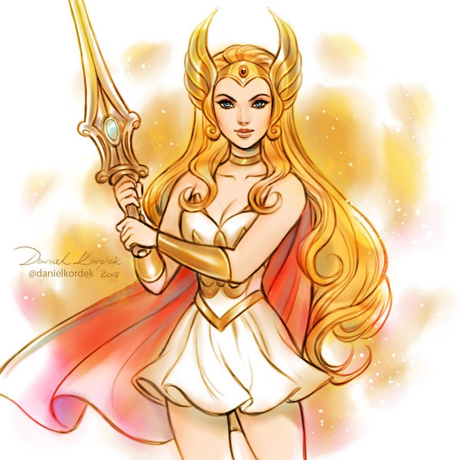 She-Ra: Princes of Power by daekazu
