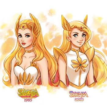 She-Ra: Princes of Power Comparison
