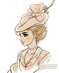 Lady Hatter by daekazu