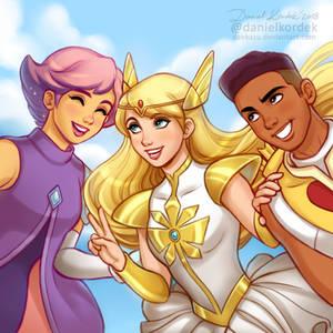 She-Ra, Glimmer + Bow