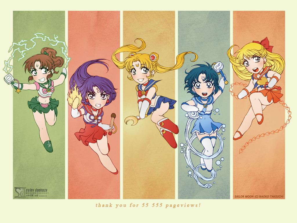 Fanarts japonais / Doujinshi (origine : Crys11) Sailor_Moon__Wallpaper__by_daekazu
