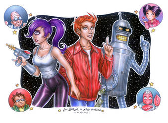 FUTURAMA by daekazu