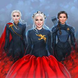 Daenerys + GaGa + Katniss