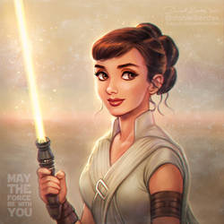 Star Wars: Audrey as Rey