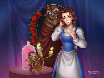 Beauty and the Beast by daekazu