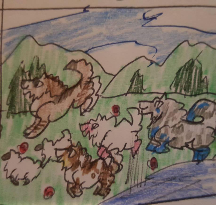 AoA - Sheep Shot